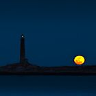 Thacher Island North Tower  by Steve Borichevsky