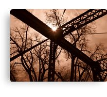 Bright Intersection Canvas Print
