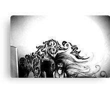 Wall Drawing Canvas Print