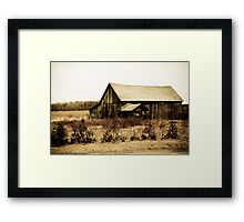 Long since forgotten.. Framed Print