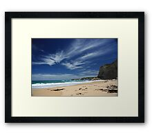 Two Mile Cove, Port Campbell, Victoria Framed Print