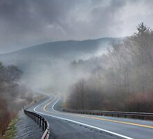 Winding Into the Mist by Lori Deiter