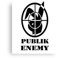 Publik Enemy  Canvas Print