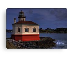 Coquille Lighthouse HDR #2 Canvas Print