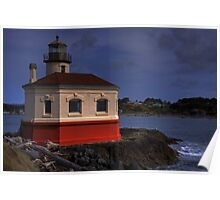 Coquille Lighthouse HDR #2 Poster