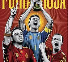 La furia roja | Soccer by SALSAMAN