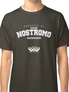 Property of USCSS Nostromo - white Classic T-Shirt