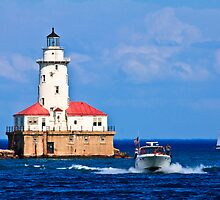 Chicago Harbor Lighthouse by Jay Capilo