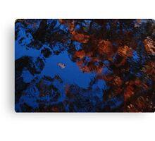 Autumn Blues Dream Canvas Print