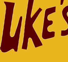 Luke's Diner (No Coffee Stain) Sticker