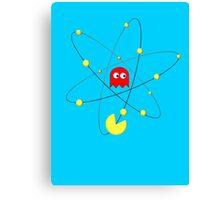 Pac-Atom Canvas Print