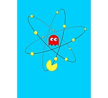 Pac-Atom Photographic Print