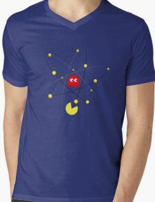 Pac-Atom Mens V-Neck T-Shirt