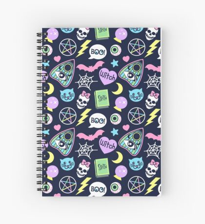 Spooky Babe Spiral Notebook