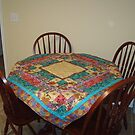 Dragon Quilt Table Top by JRGarland