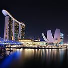 Marina Bay, Singapore by Dean Mullin