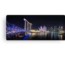 Marina Bay, Singapore Canvas Print