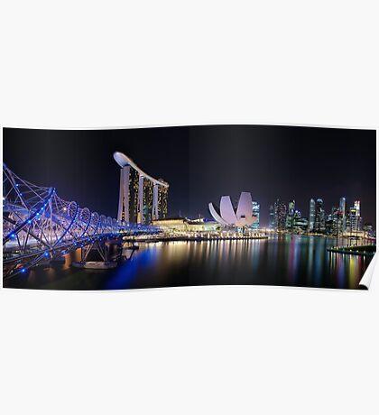 Marina Bay, Singapore Poster