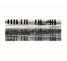 Goleta Pier Art Print