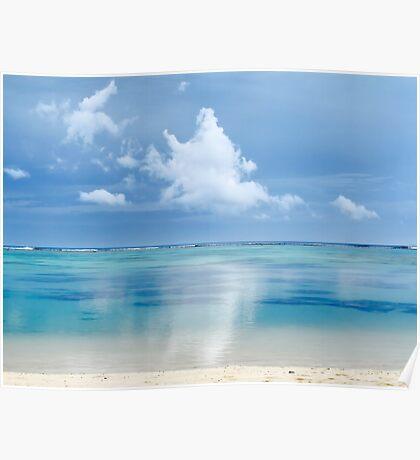 Tranquility - Rarotonga, Cook Islands Poster