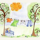 Laundry Day by Jennifer Gibson