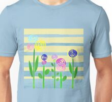Lollipop Flower Bed Unisex T-Shirt