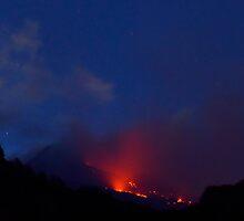 Il fuoco dell'Etna by Andrea Rapisarda
