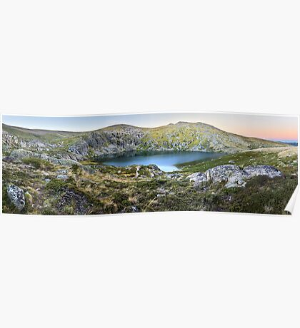 Blue Lake, Kosciusko National Park, Australia  Poster