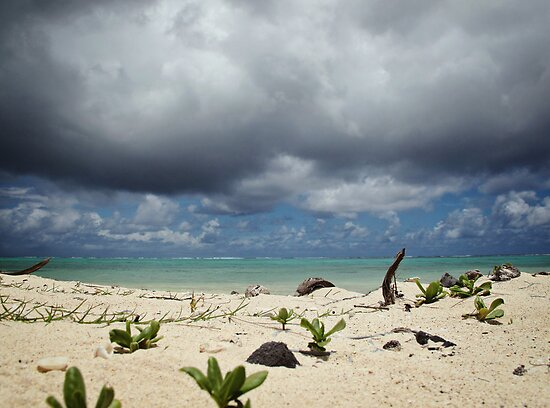 Impending Storm - Rarotonga, Cook Islands by Bev Short