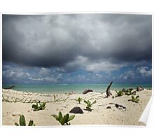 Impending Storm - Rarotonga, Cook Islands Poster