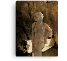 Shades of Jean Harlow Canvas Print