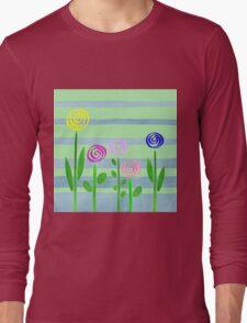 Lollipops In The Garden Long Sleeve T-Shirt
