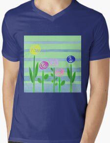 Lollipops In The Garden Mens V-Neck T-Shirt