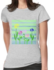Lollipops In The Garden Womens Fitted T-Shirt