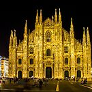 Milan cathedral by Night by Bruno Beach