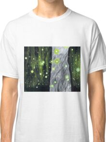Lightning Bugs Behind a Curtain of Willow Tears Classic T-Shirt