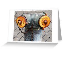 Metal Torso Greeting Card