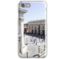 Plaza del Campidoglio iPhone Case/Skin