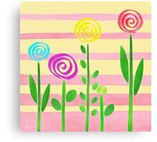 Lollipop Garden Canvas Print