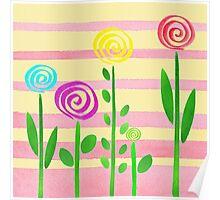 Lollipop Garden Poster