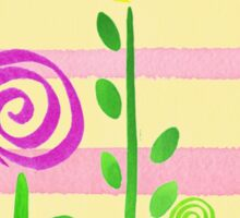 Lollipop Garden Sticker