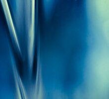 Glass Abstract #1 Liquid Falls by Su Walker
