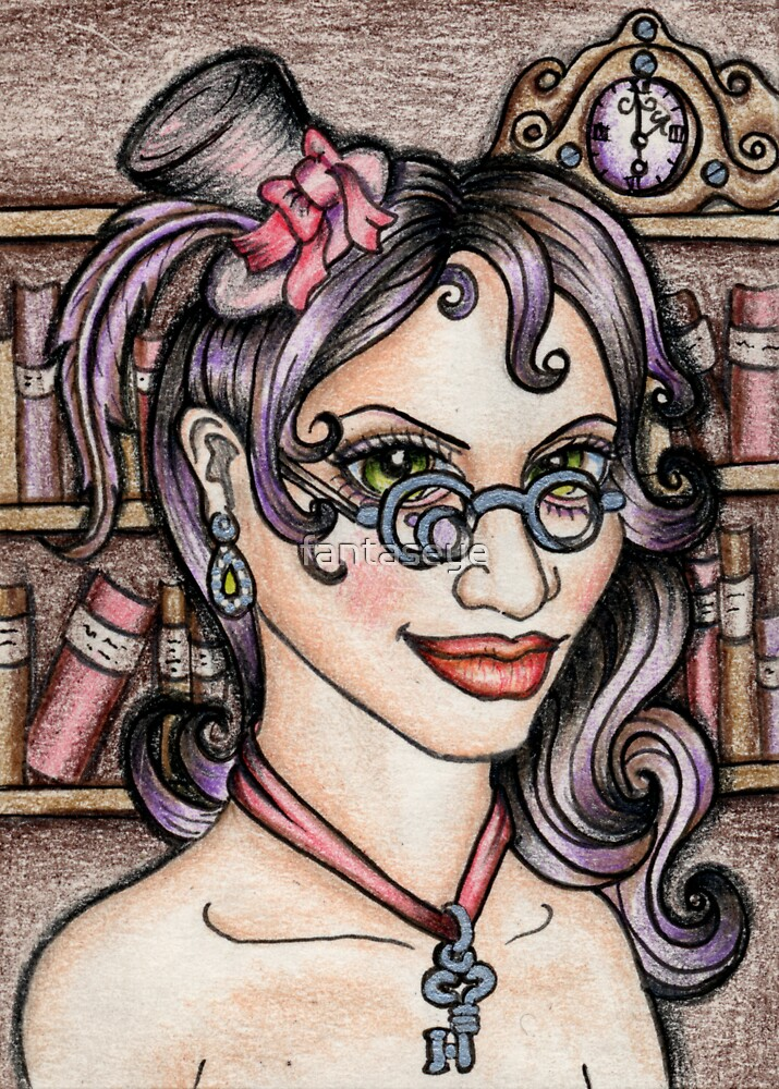 Steamface #11 The Librarian by fantaseye
