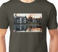 Reflection at Wagner Mill Unisex T-Shirt
