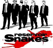 Reservoir Snakes by datshirts