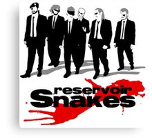 Reservoir Snakes Canvas Print