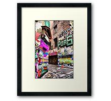 Graffiti Art 3 Framed Print