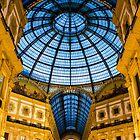 Vittorio Emanuele Shopping Gallery in Milan, ITALY by Bruno Beach