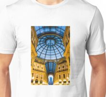 Vittorio Emanuele Shopping Gallery in Milan, ITALY Unisex T-Shirt