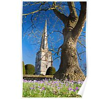 Painswick Church, The Cotswolds, England Poster